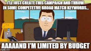PPC Meme - Adwords broad match - Market Lauch Digital - AdWords Consultant