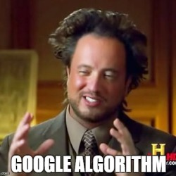 SEO Meme Google Algorithm - Market Launch Digital Marketing Consultant